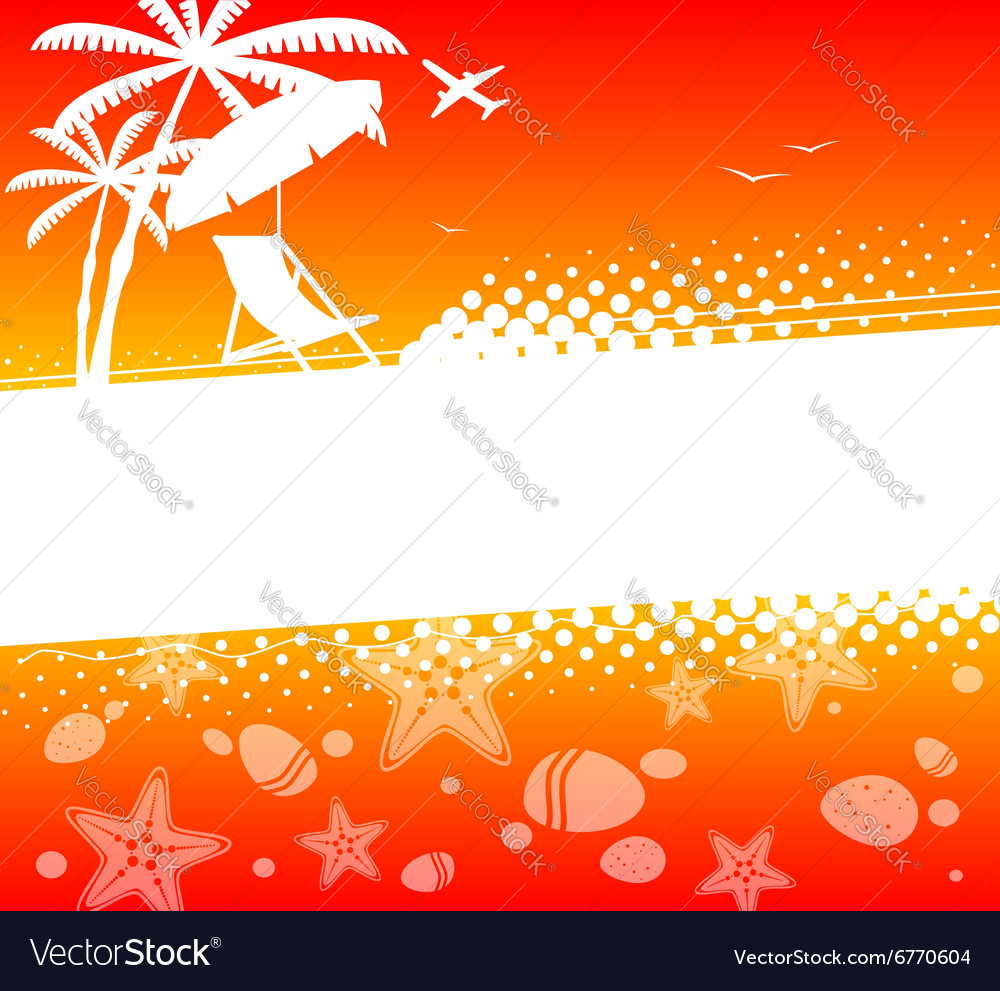 Summer holiday abstract background