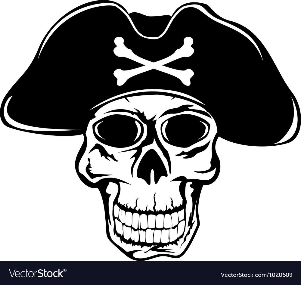Pirate in hat