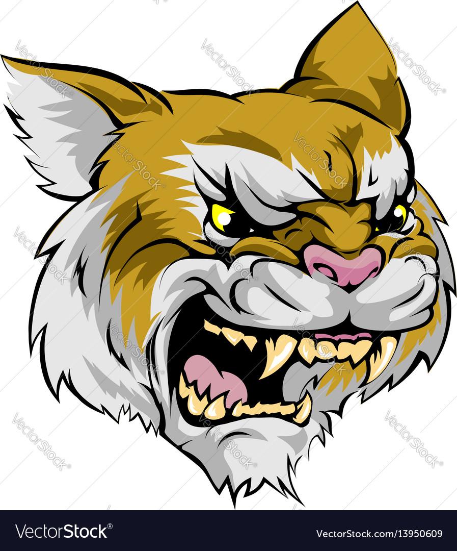 Wildcat mascot character