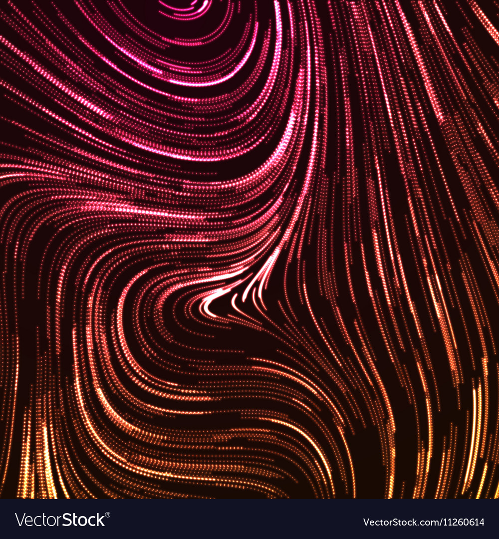 Abstract artistic curl background with swirled