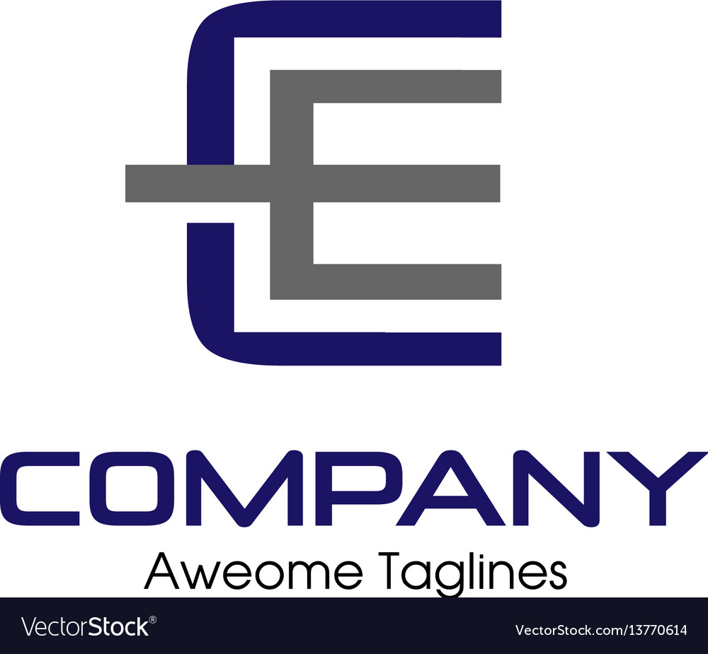 Ce letter business design template logo icon