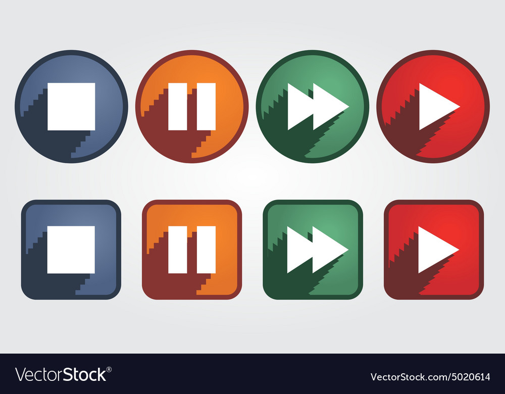 Set different media icons