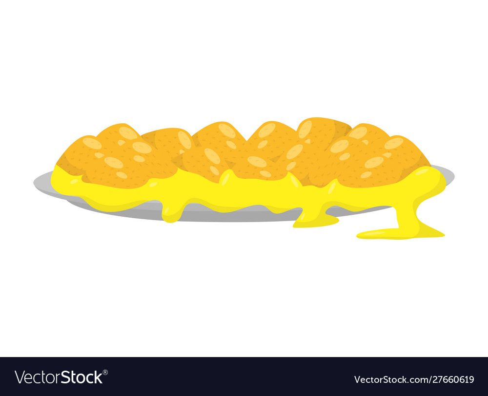 Nachos With Guacamole Sauce And Chili Pepper. Mexican Traditional.. Royalty  Free Cliparts, Vectors, And Stock Illustration. Image 101087327.