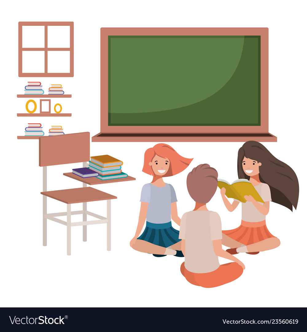 Student Sitting Class Looking Bored Depressed Stock Vector (Royalty Free)  131814353