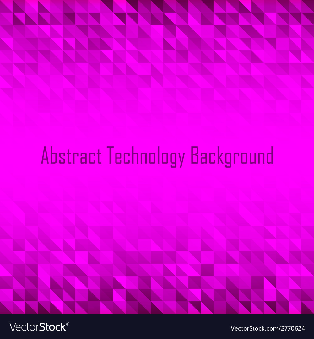 Abstract Violet Geometric Technology Background