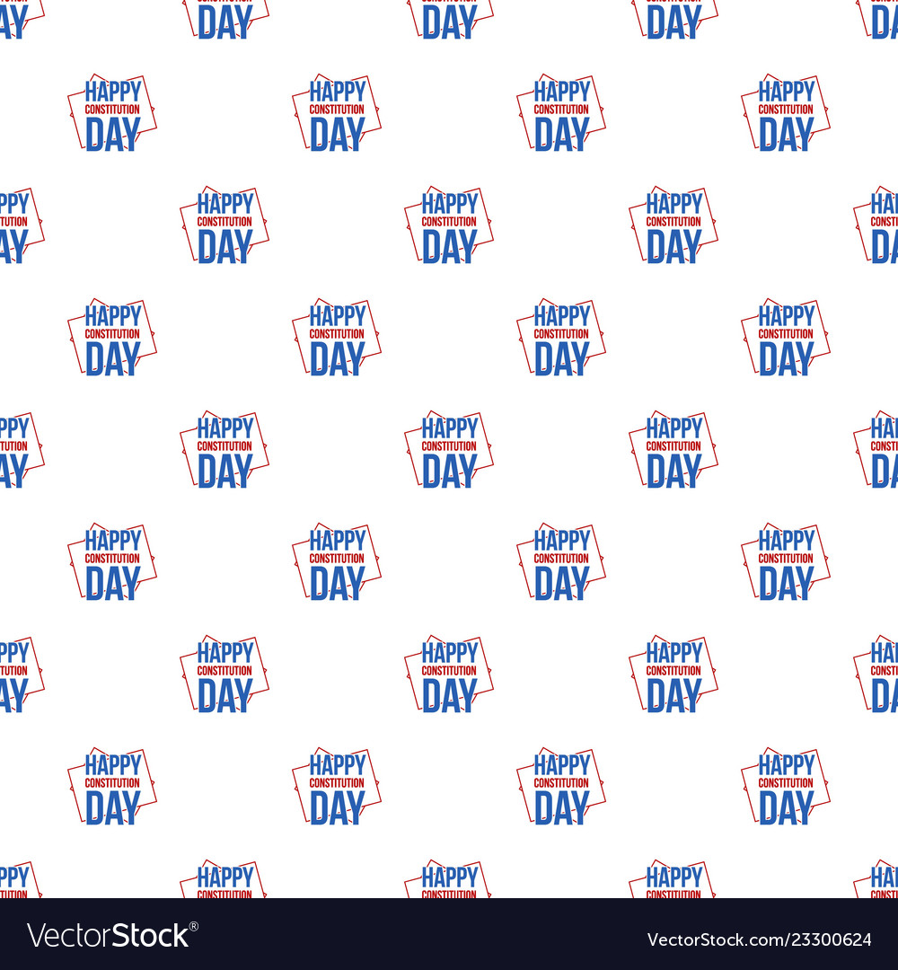 American constitution day pattern seamless