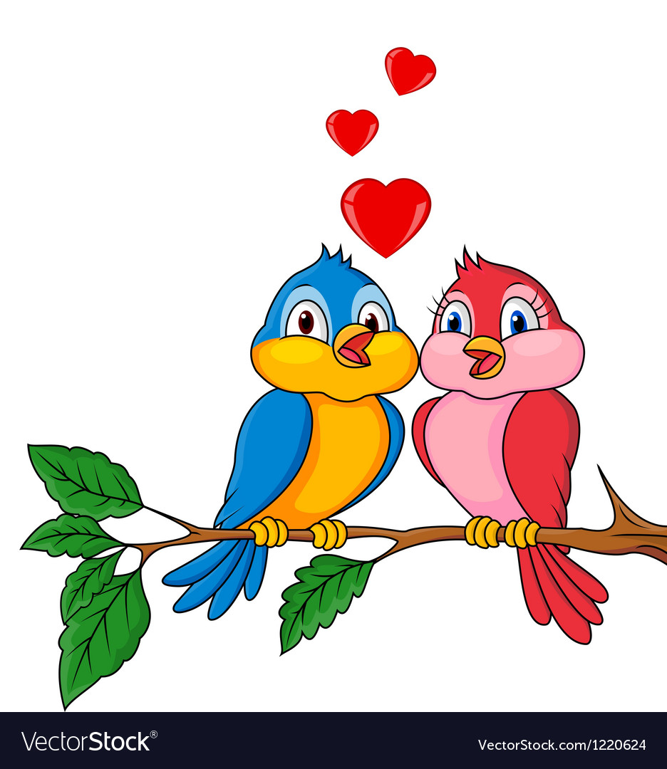 Birds with love