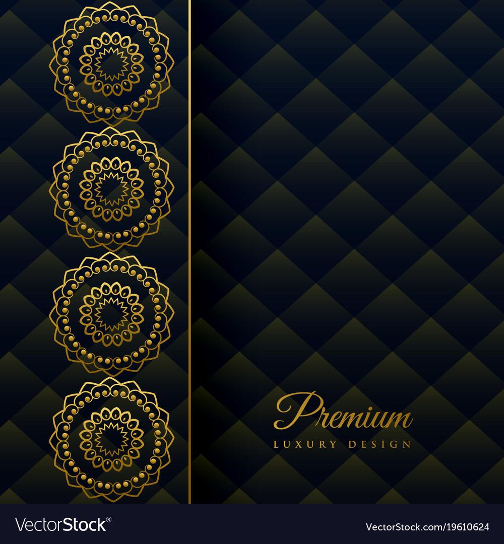 Luxury ornamental mandala decoration background