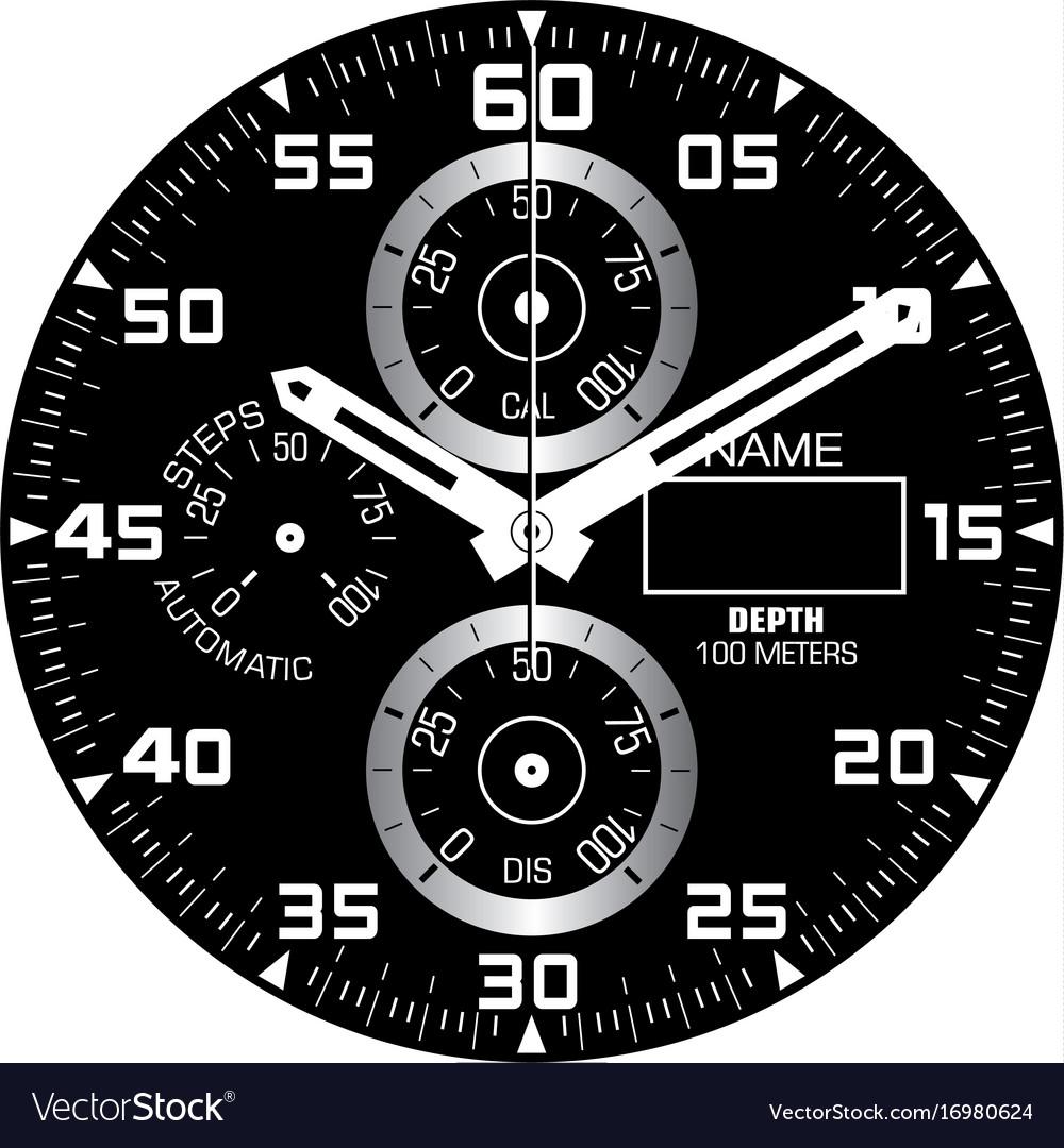Smart watch face i