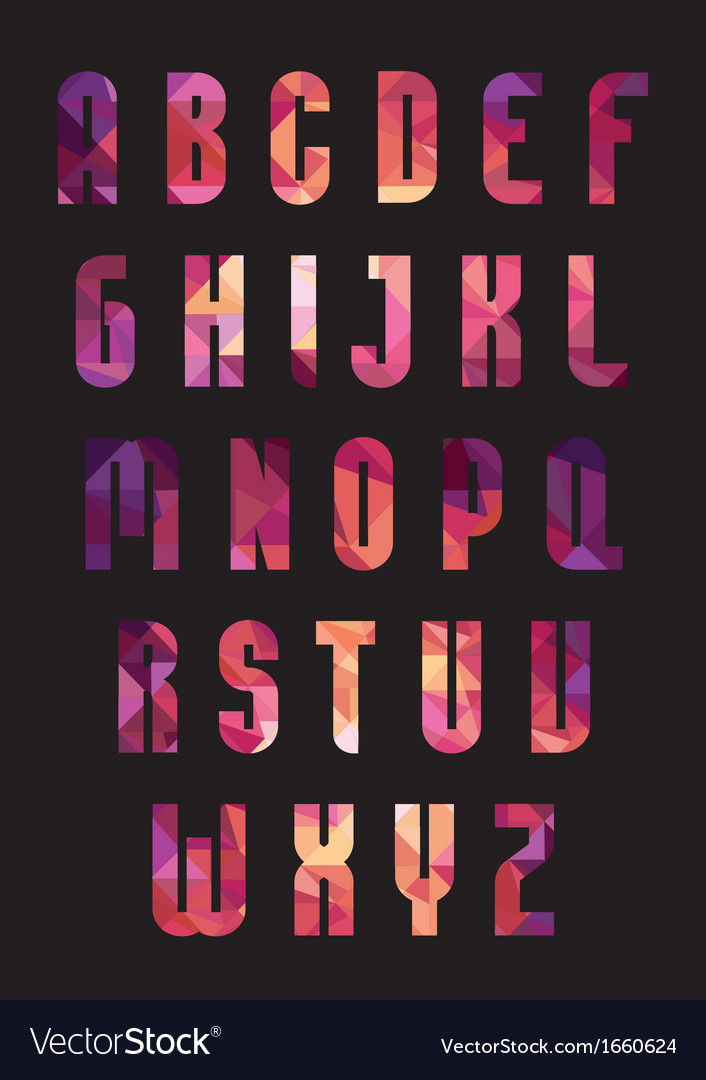 Trendy font