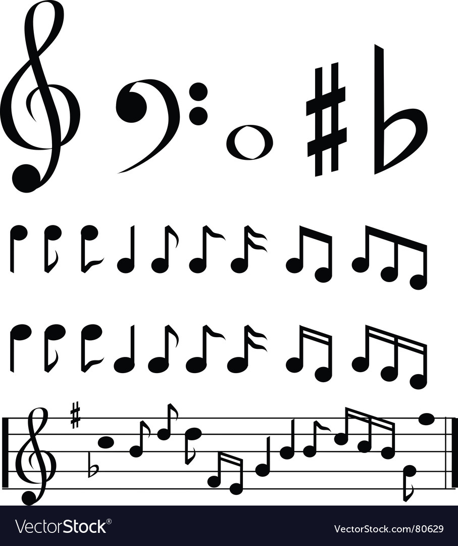 Music note selection