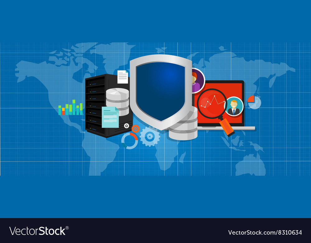 Data protection database security internet shield
