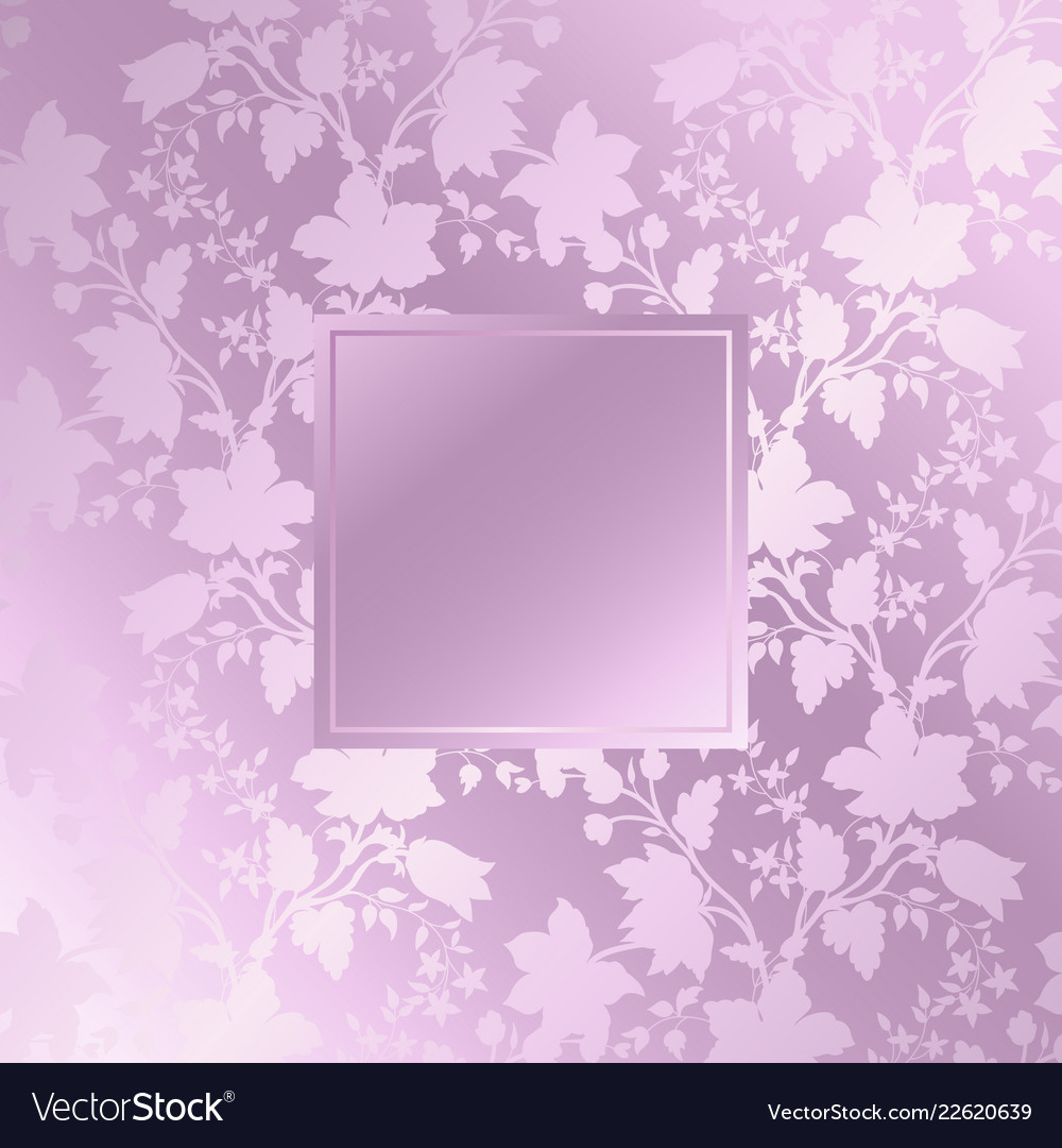 Abstract vintage seamless damask pattern floral