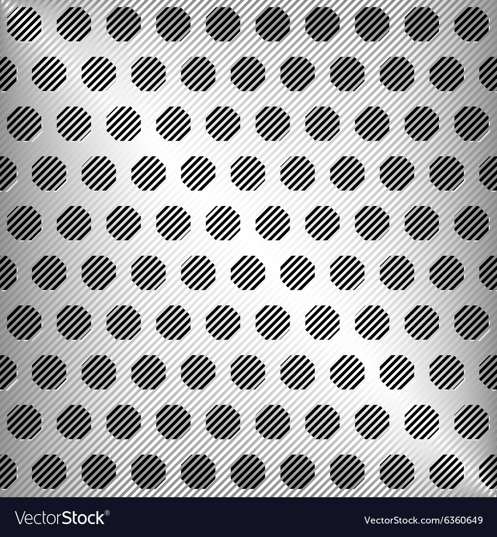 Abstract silver metal texture vector image