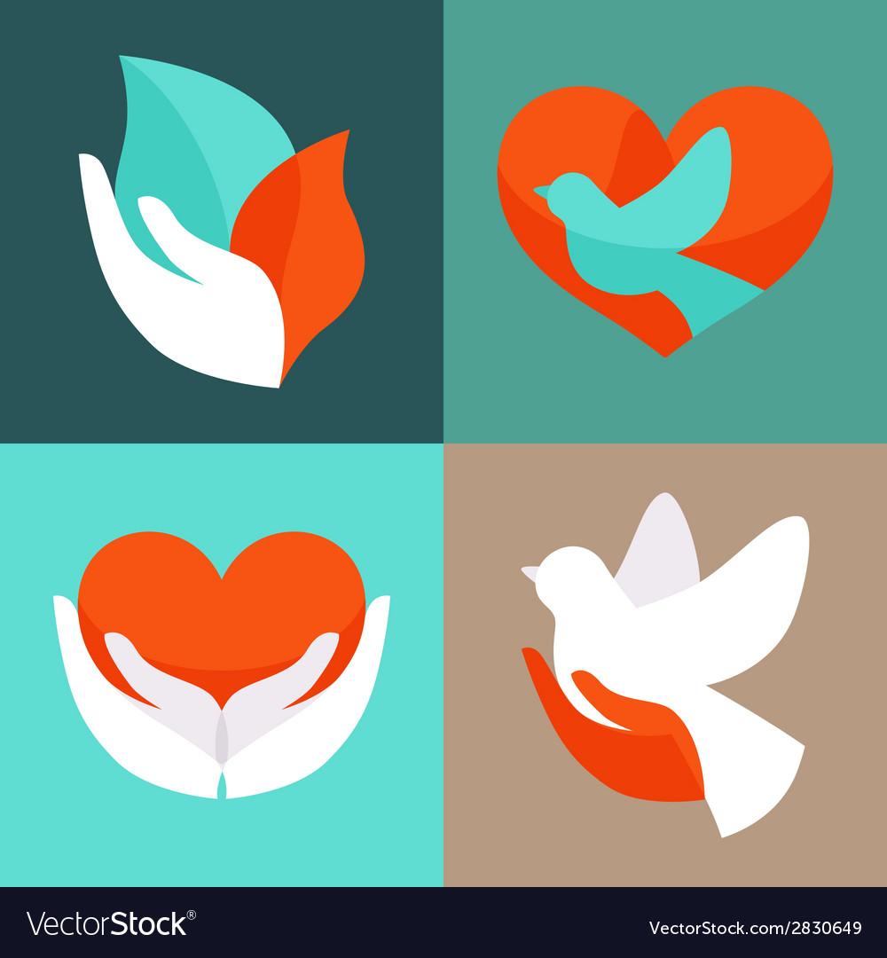 Charity emblems