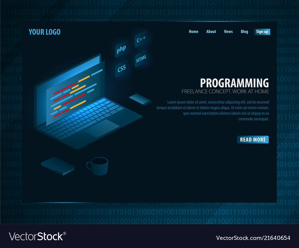 Isometric developing programming and coding