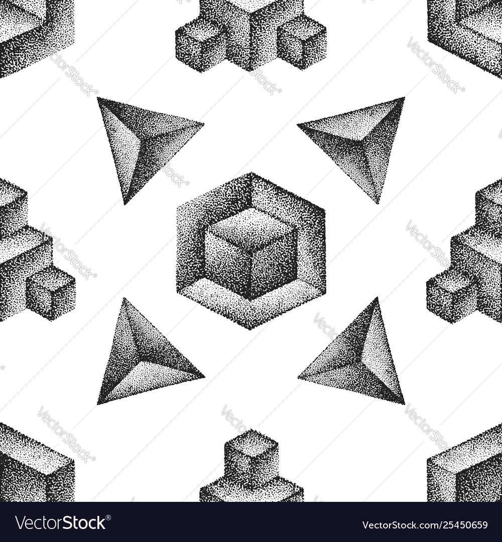 Engraving vintage seamless pattern