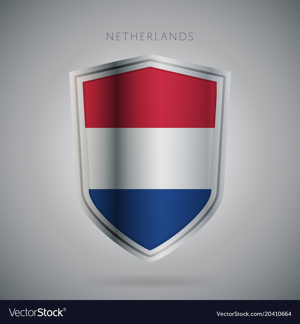 Europe flags series netherland icon