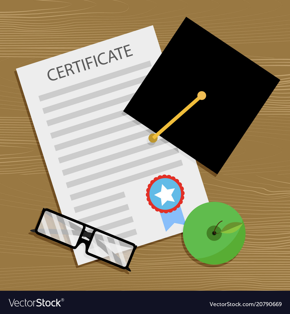 Bachelor degree and certificate
