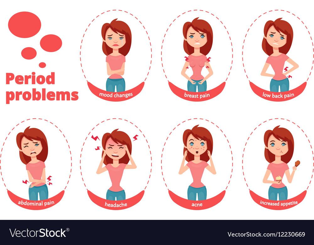 Female period problems