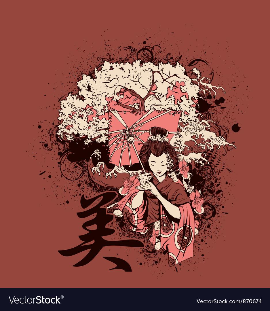 Japanese tshirt design