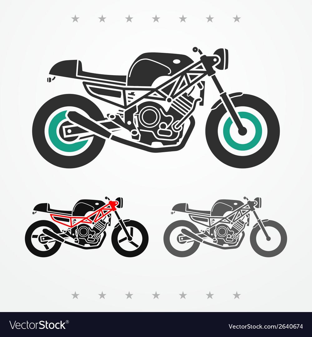 Modern road motorcycle
