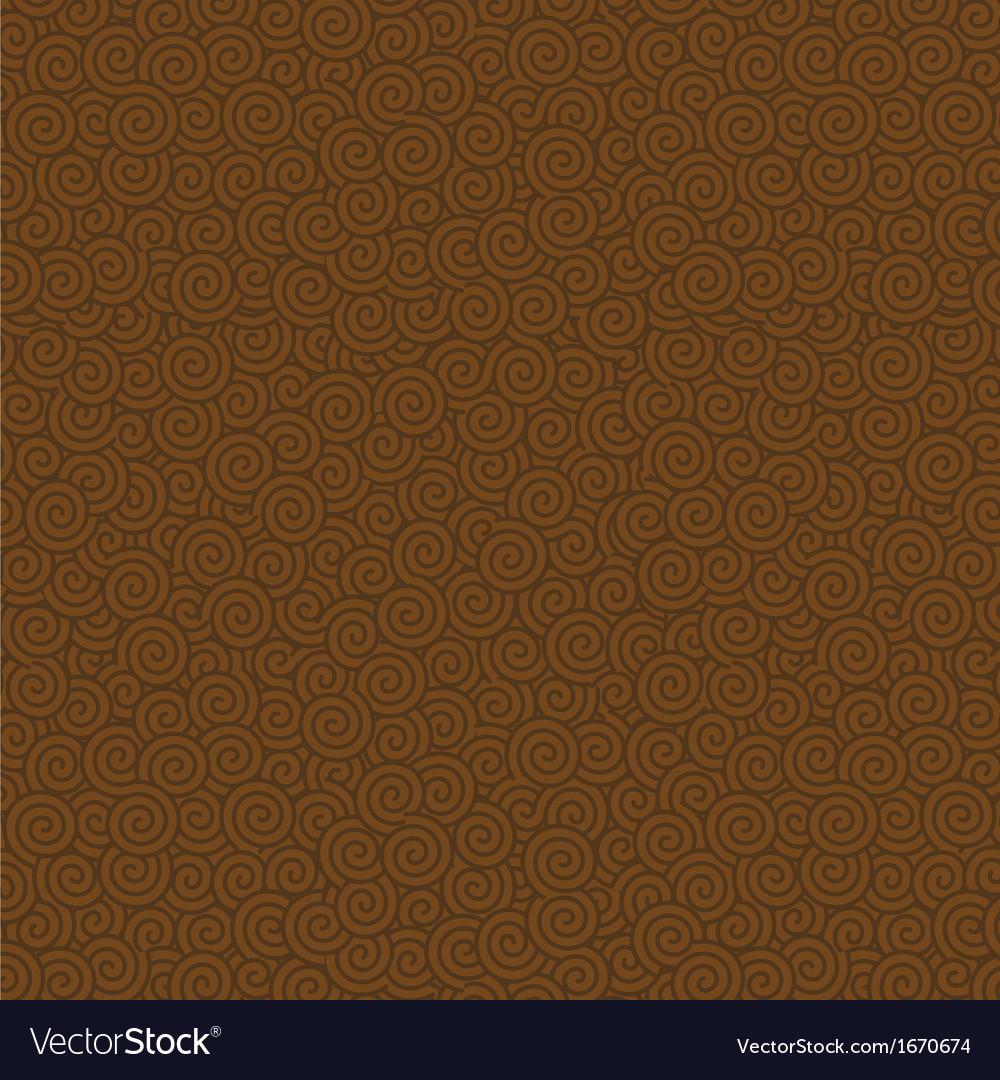 Swirls seamless pattern background
