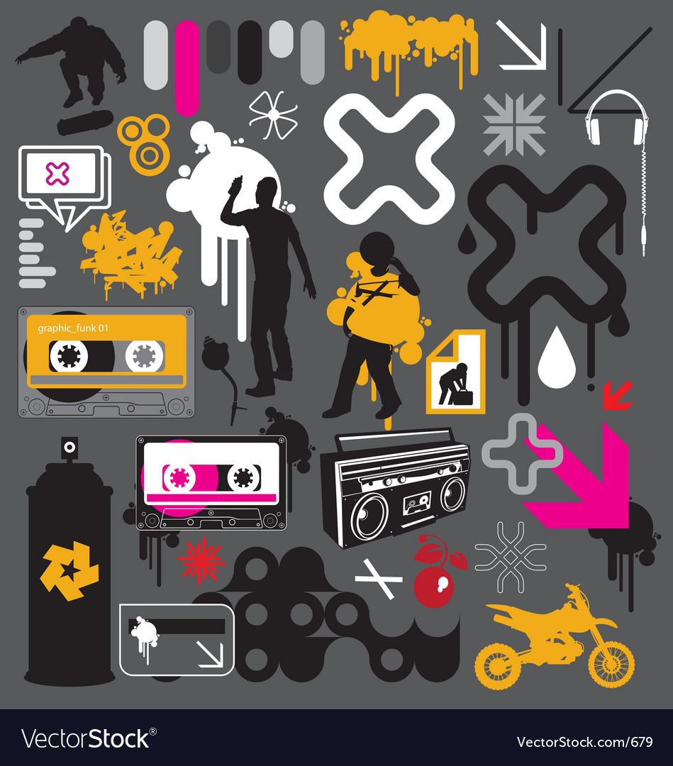 Graphic funk