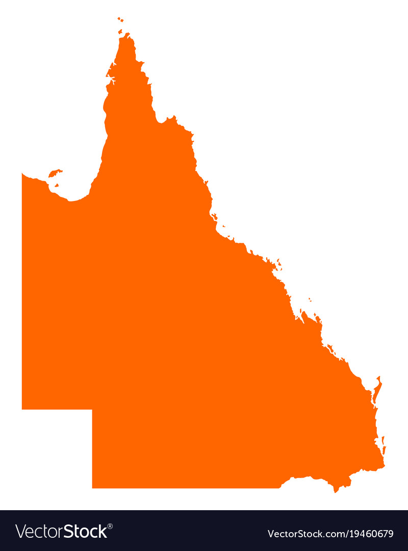 Map Queensland.Map Of Queensland