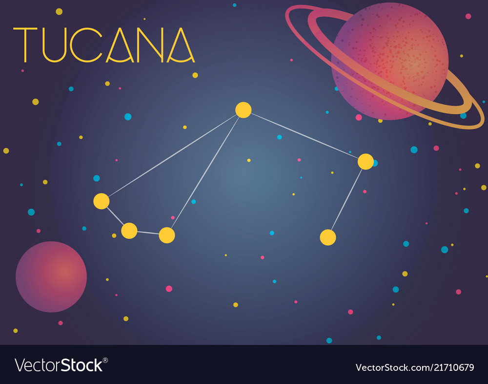 The constellation tucana Royal...