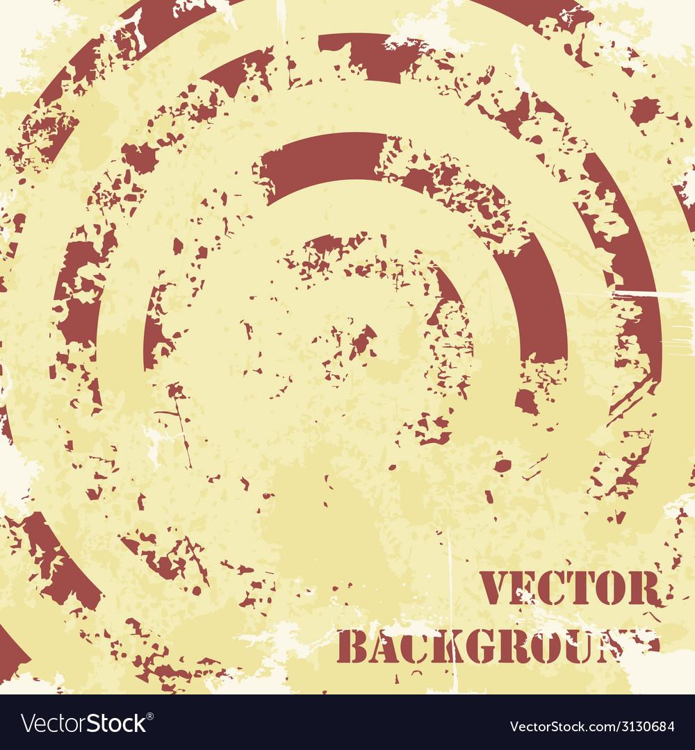 Abstract spiral grunge pattern background
