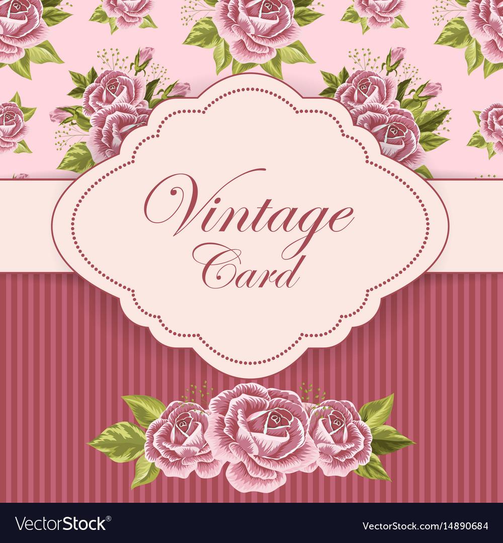 Beautiful vintage card