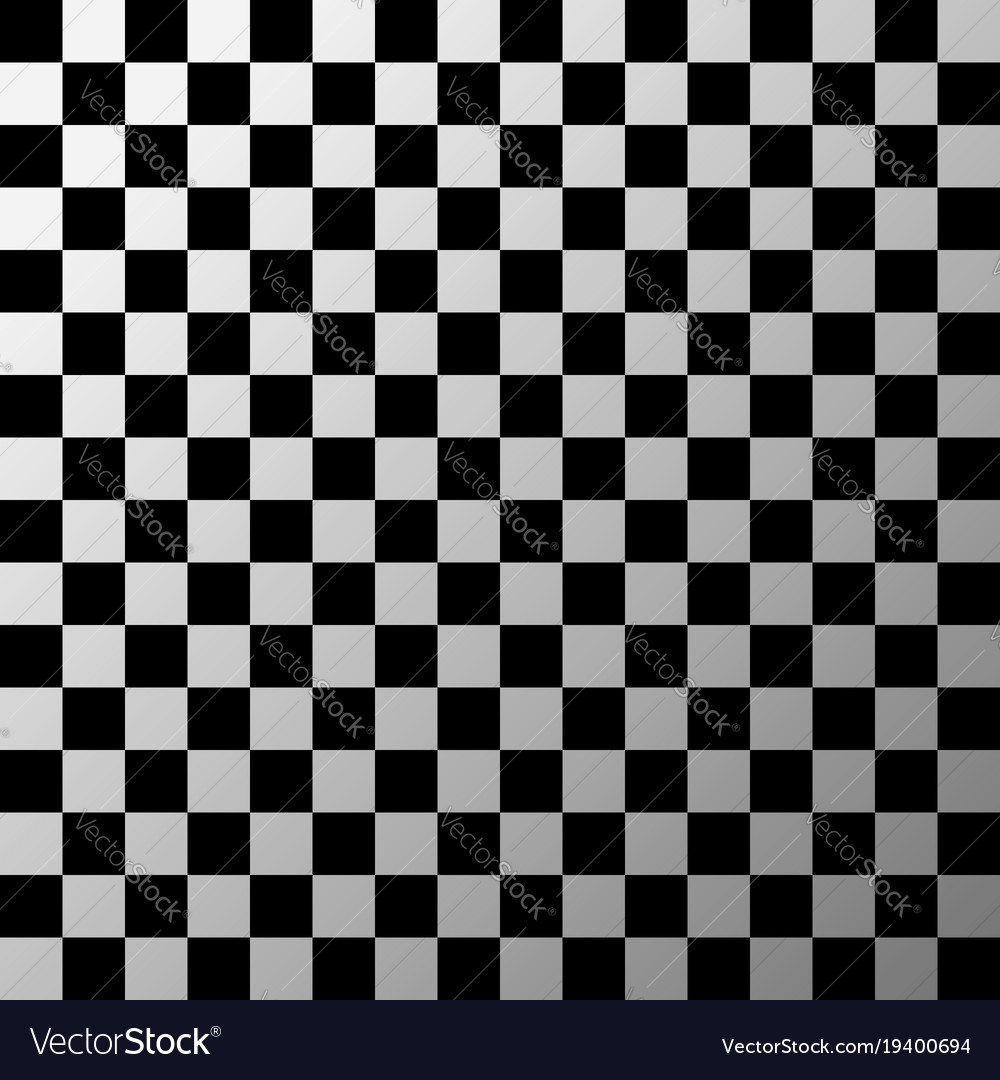 Black And White Checkered Pattern Royalty Free Vector Image