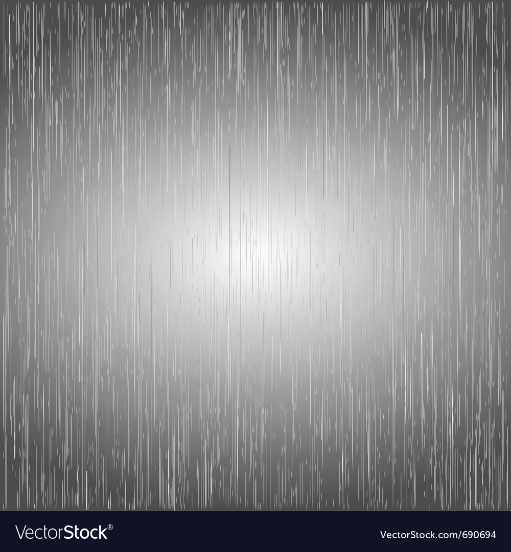 brushed metal template background royalty free vector image