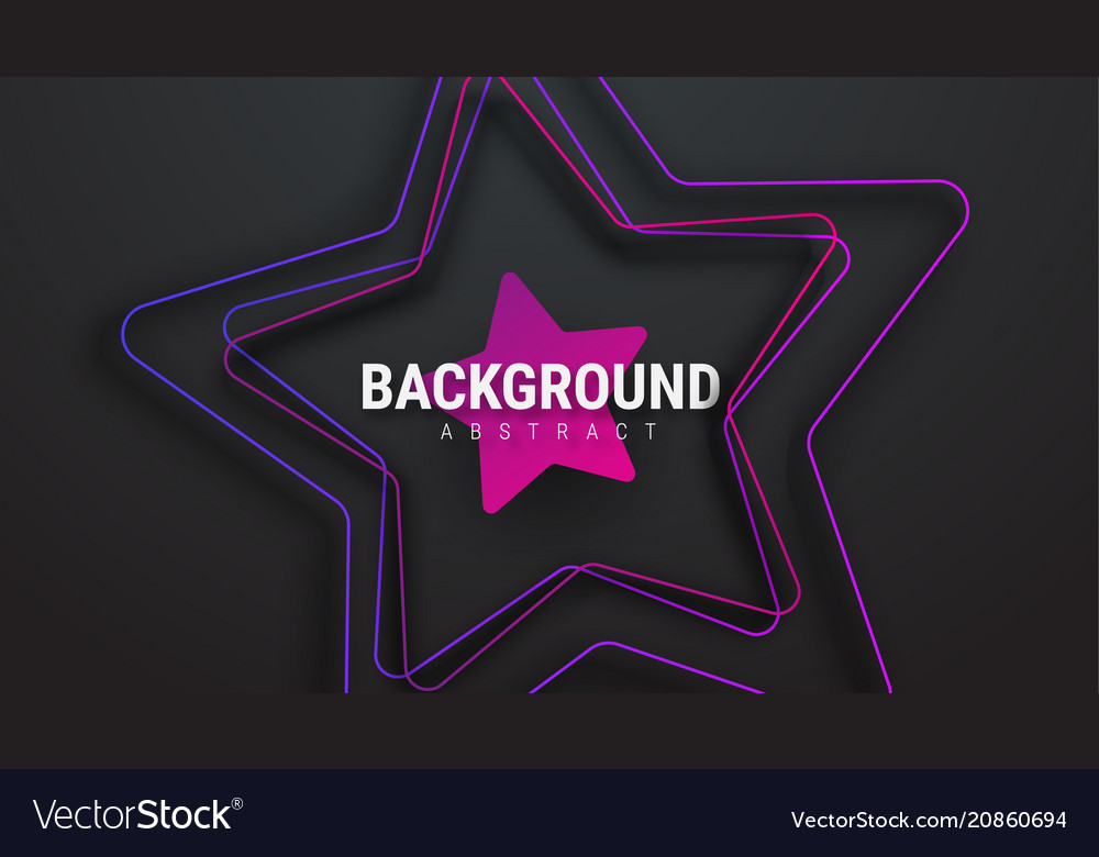 Design of a black background with an ultra-violet