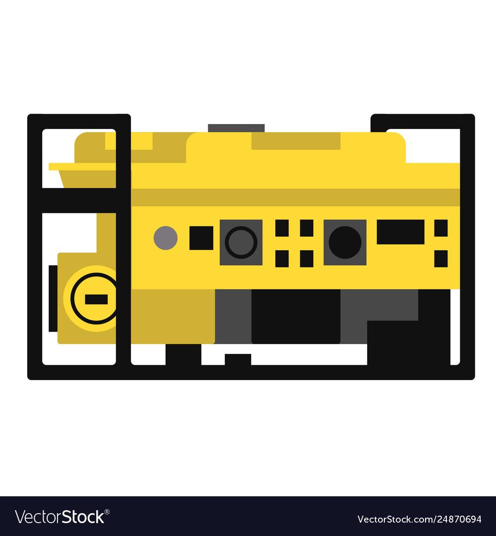 Generator flat