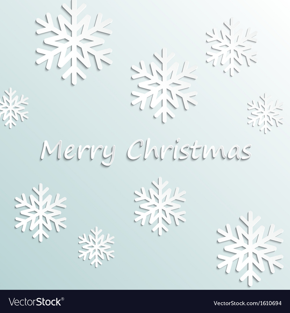 Simple merry christmas background