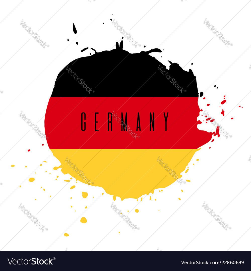 Germany watercolor national country flag icon