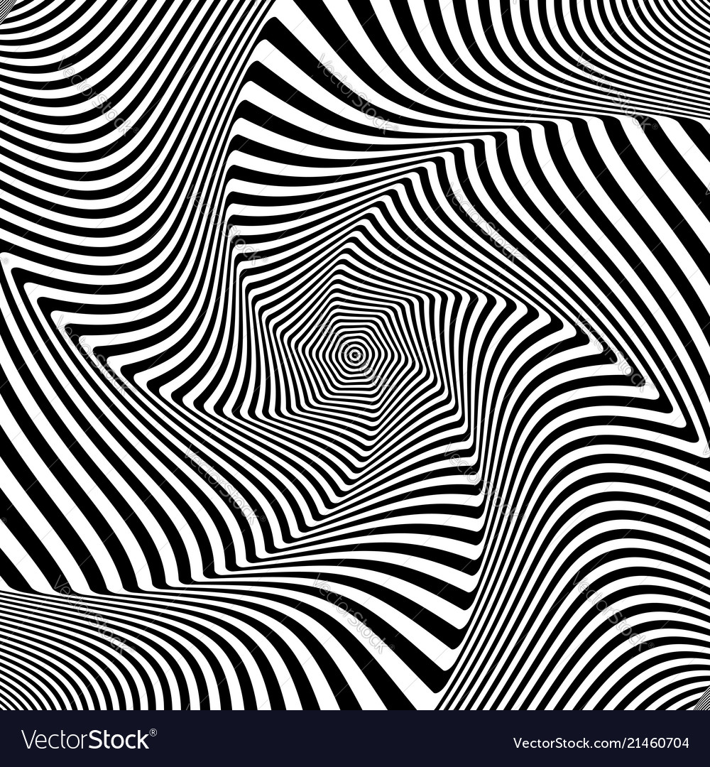 Abstract Op Art Design