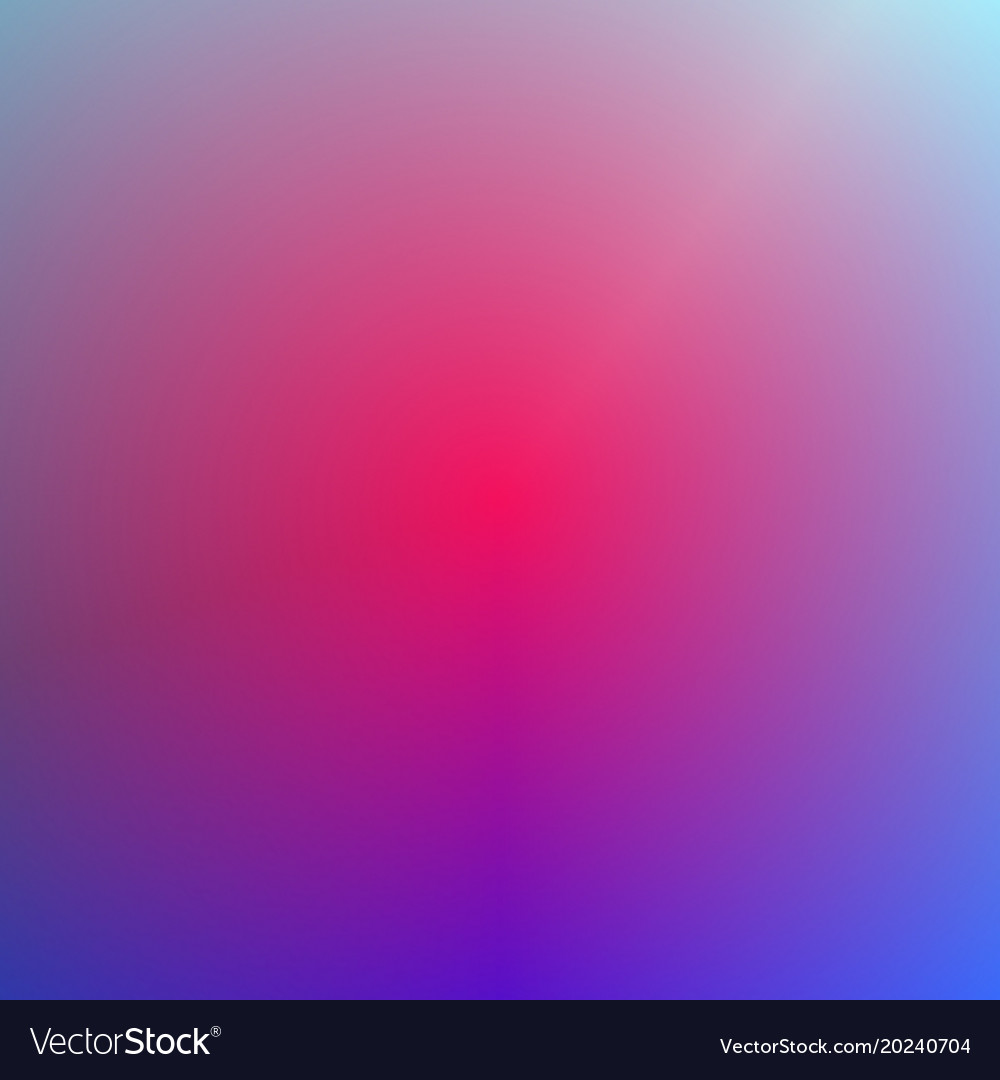 Gradient abstract blurred background design vector image