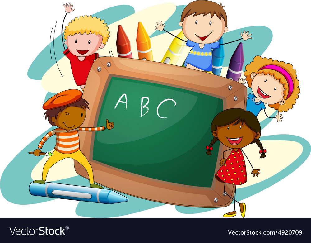 Activity and board vector image