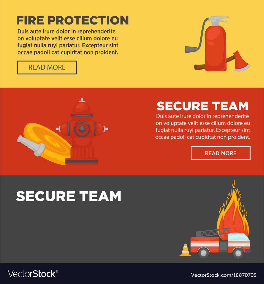 Fire protection and firefighter secure team web
