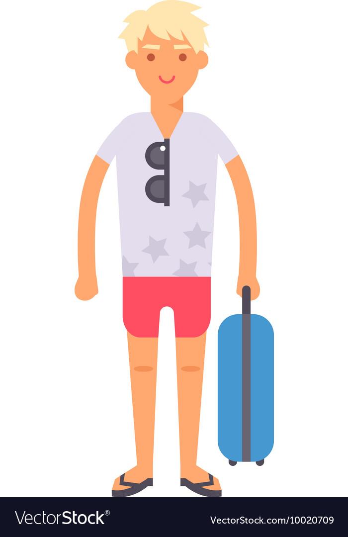 Vacation boy