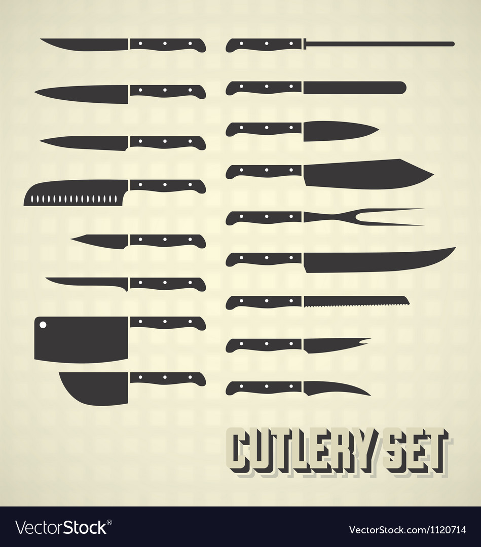 Cutlery Set and Kitchen Knives