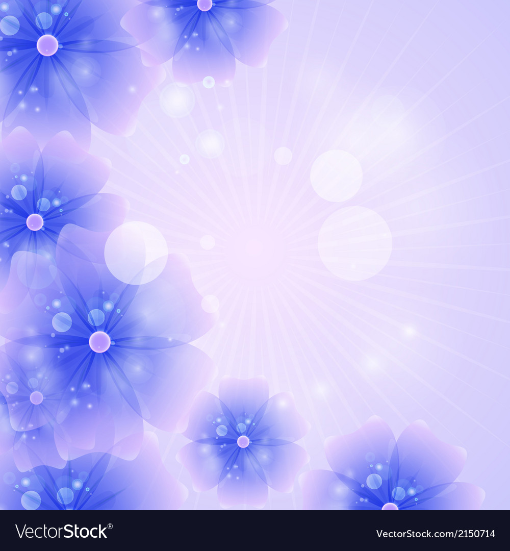 Floral Background Purple Royalty Free Vector Image