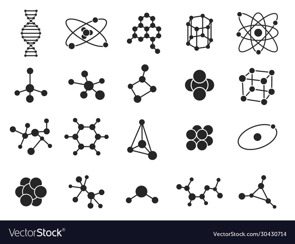 Molecular structure science molecules atom