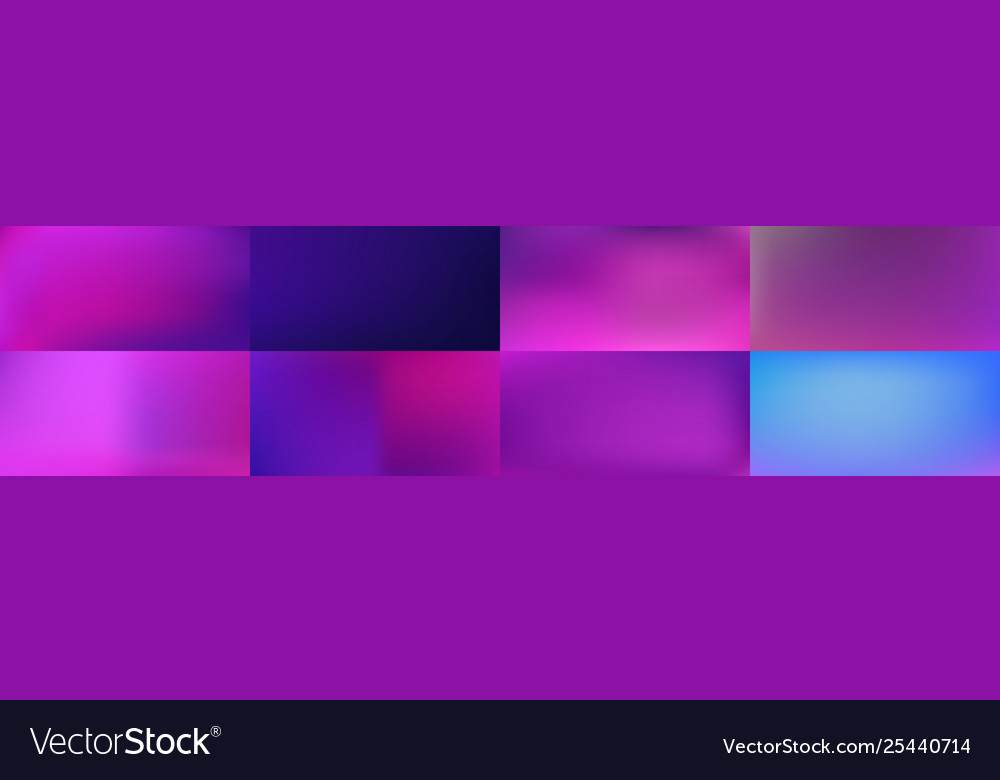 Set smooth abstract colorful mesh backgrounds