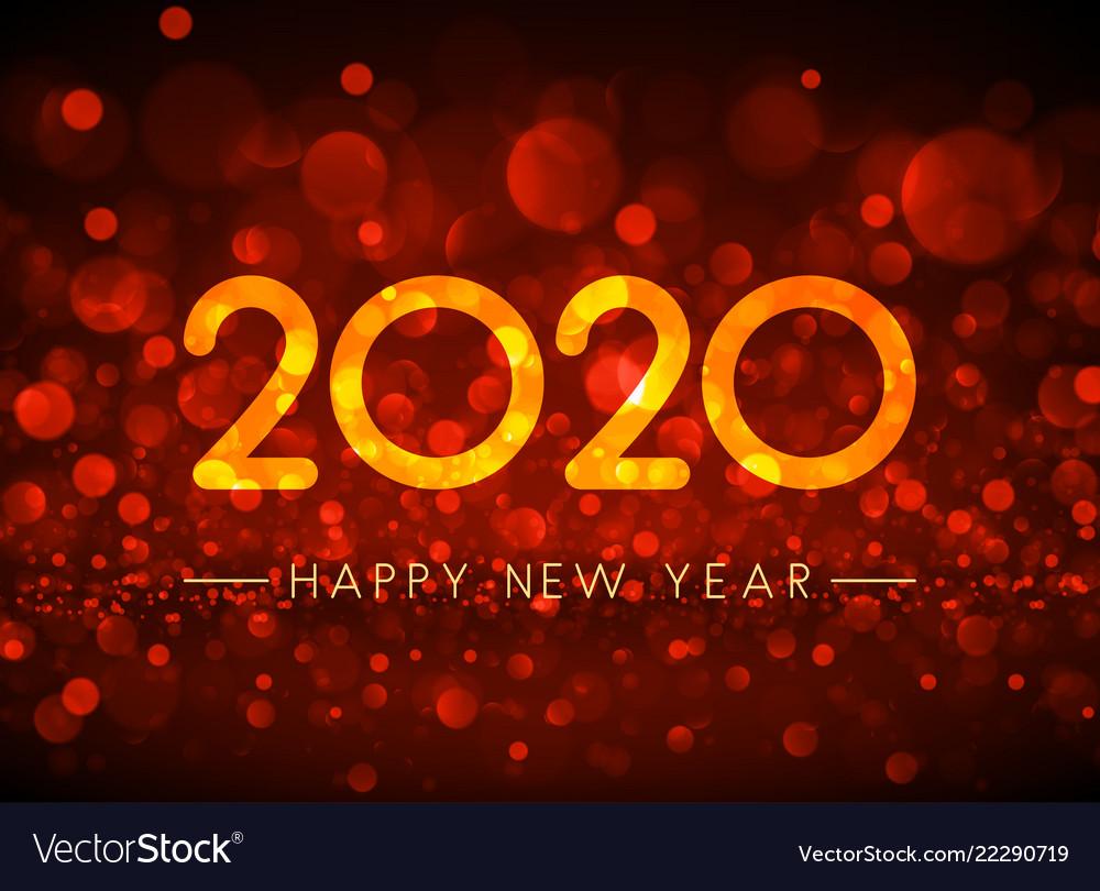 Happy New Year Orange 10