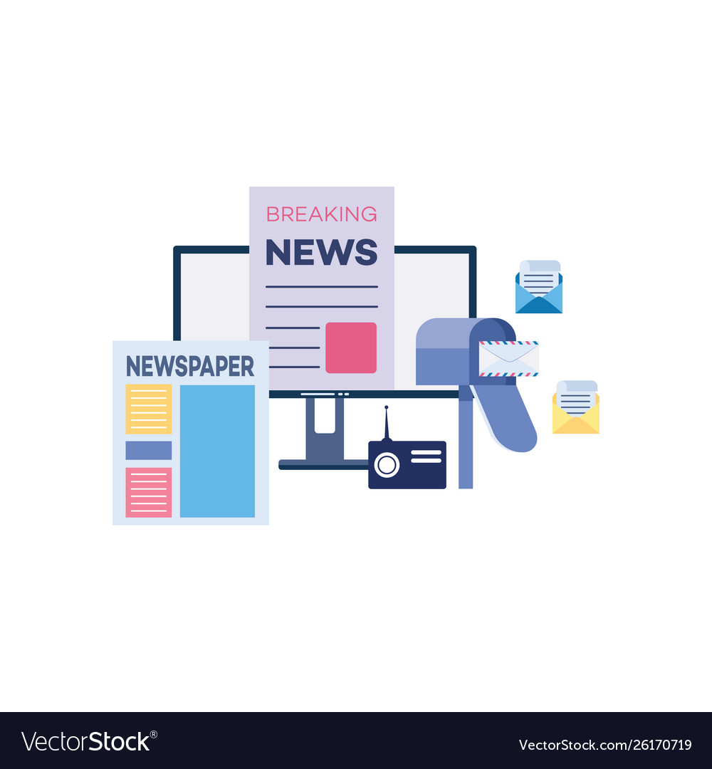 Outbound marketing with newspapers and news