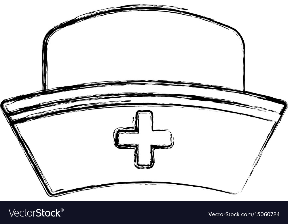 Nurse Hat Isolated